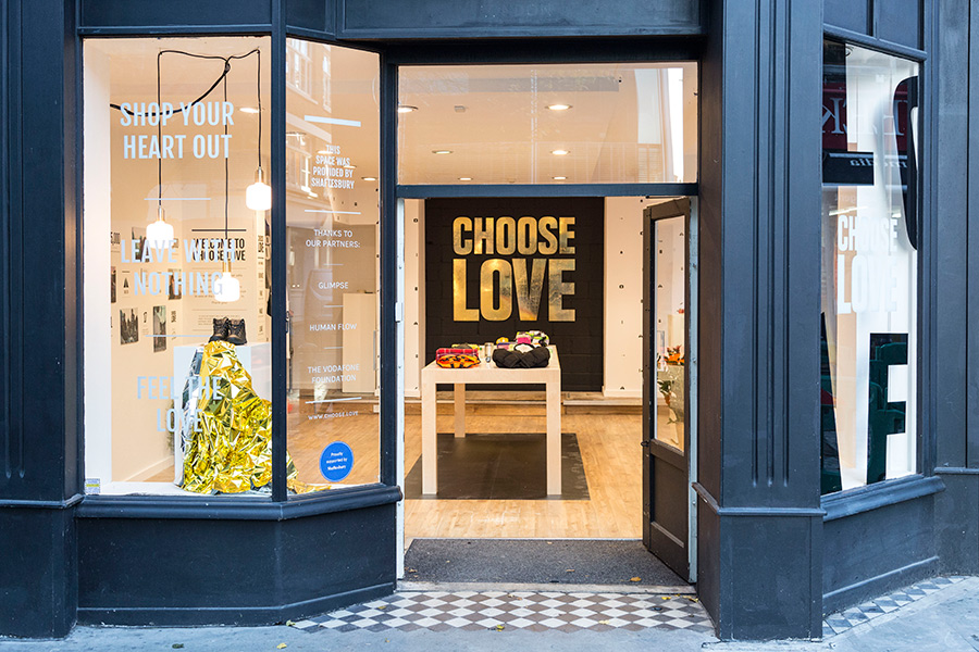 Jan Lewis Creative, Romford, Choose Love Creative