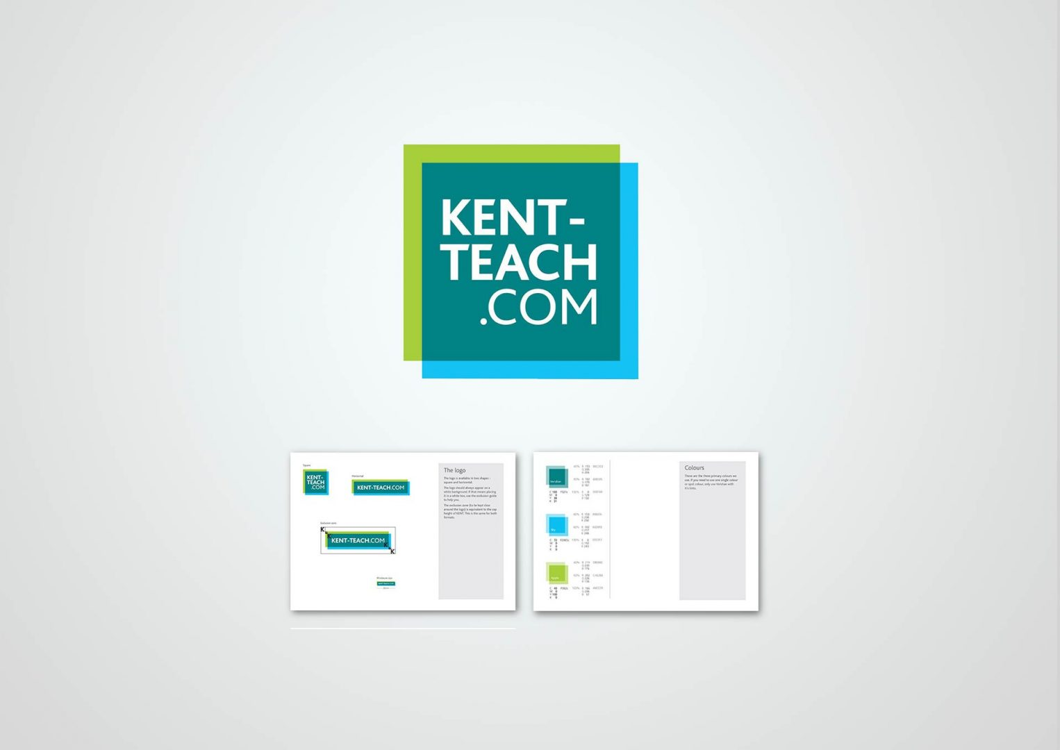 Kent Teach, Logo design, Graphic Designer, Photoshop, Branding, Romford, Essex, Jan Lewis Creative