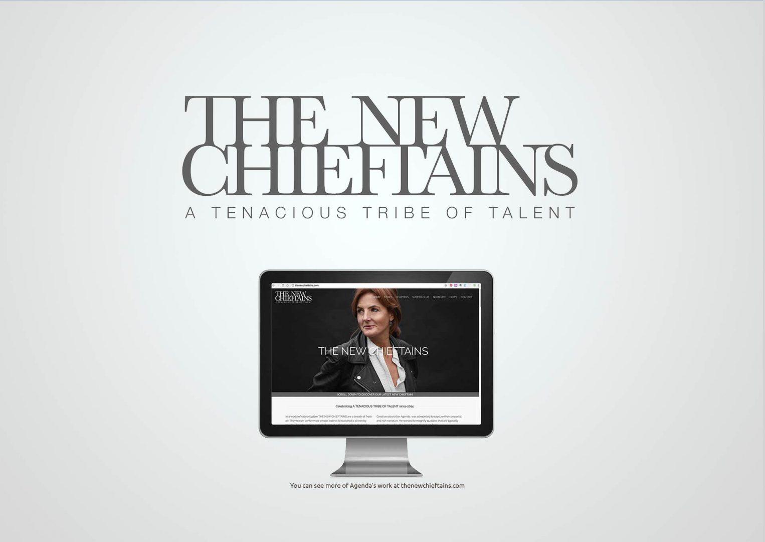 The New Chieftains, Logo design, Graphic Designer, Photoshop, Branding, Romford, Essex, Jan Lewis Creative