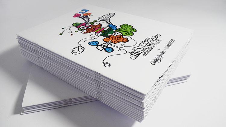 ClunkyDoodles colouring book